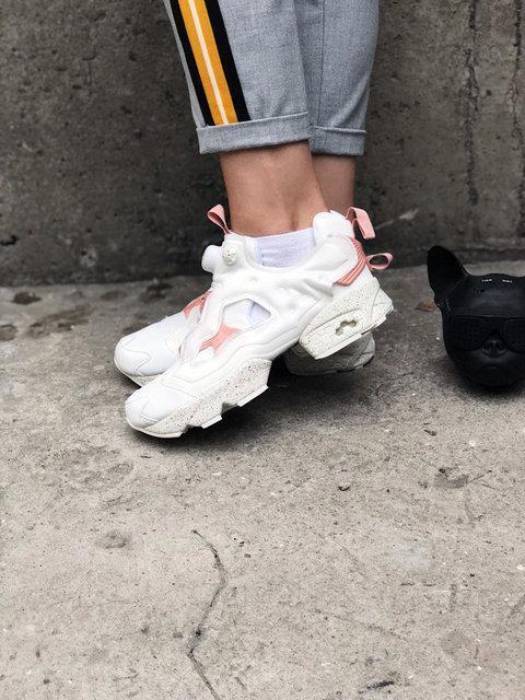 "Женские кроссовки в стиле Reebok InstaPump Fury Celebrate ""White"" - фото 6"
