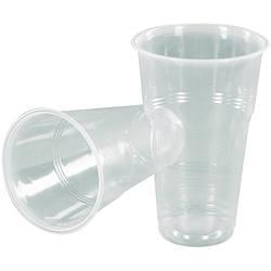 Стакани пластикові