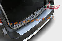 Накладка на задний бампер без логотипа Союз 96 на Nissan Terrano 2014