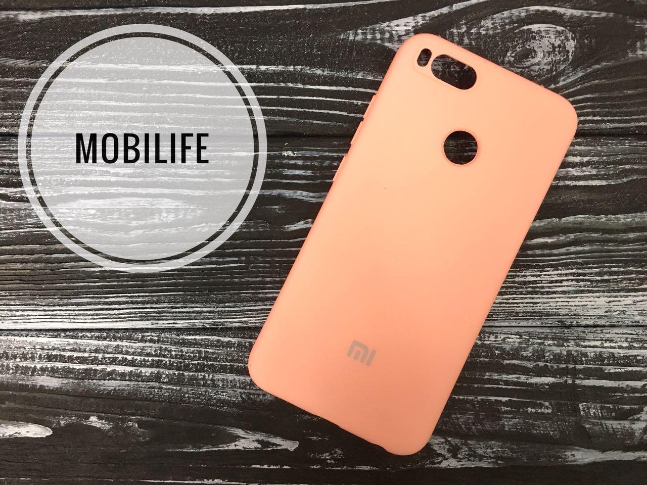 Original case Xiaomi Mi A1,Mi 5x peach