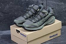 Мужские кроссовки Reebok,замшевые,темно зеленые 44р, фото 3
