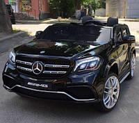 Детский электромобиль джип Mercedes GLS 63, черный (Hl228) (3565)
