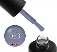 Гель лак Couture Colour 053 серо голубой 9 мл