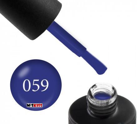 Гель лак Couture Colour 059 синій 9 мл
