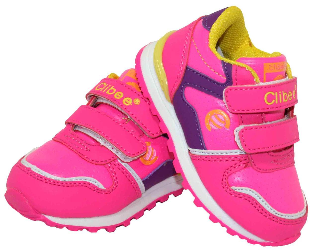 7be28304 Детские кроссовки для девочки Clibee Польша размеры 22-27 - купить ...