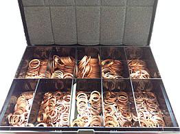 Набор медных колец, DIN 7603/2