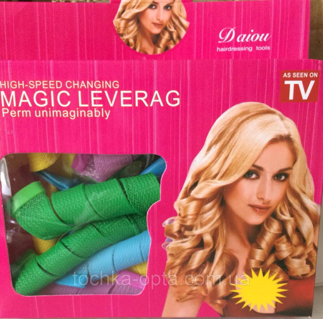 """Бигуди Magic Leverag """"Волшебные локоны"""" длинные"""