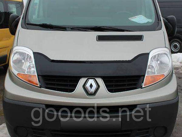 Дефлектор (мухобойка) Renault Trafic / Opel Vivaro