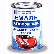 Емаль А-1412 автомобільна швидковисихаюча (помаранчева)