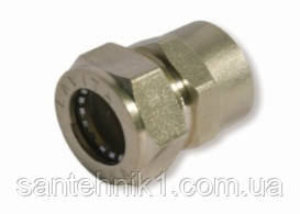 Муфта никелированная DISPIPE BIC15x3/4 (F)N