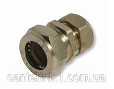 Муфта редукционная никелированная усиленная DISPIPE (BRS25-15N) 25X15, фото 2