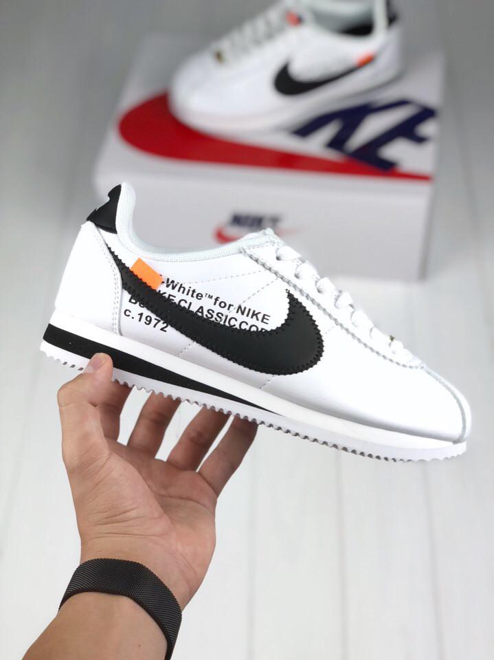53519c8e1c3 Женские кроссовки Nike Cortez x Off White (Реплика ААА+) - Rocket Shoes -