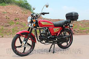 Мотоцикл SP110С-2C Альфа (4т., 110 см3, задний багажник, подножка)