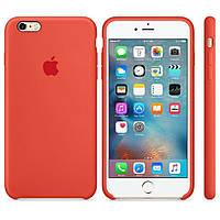 Чехол iPhone 6/6S/6+/6S+ Silicon Case (Orange)