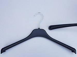 Длина 38 см. Плечики вешалки пластмассовые V-T38 черные