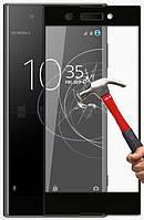 Защитное стекло AVG для Sony Xperia XA1 Plus / G3412 / G3416 / G3421 / G3423 полноэкранное черное