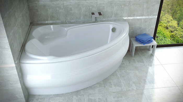 Ванна акриловая WENUS FINEZJA 140х95