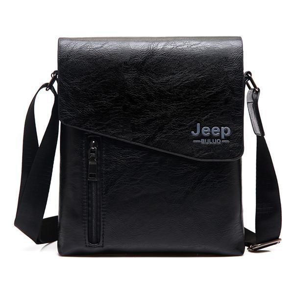 b81845aaca9b Мужская сумка Jeep Buluo 9008 Black