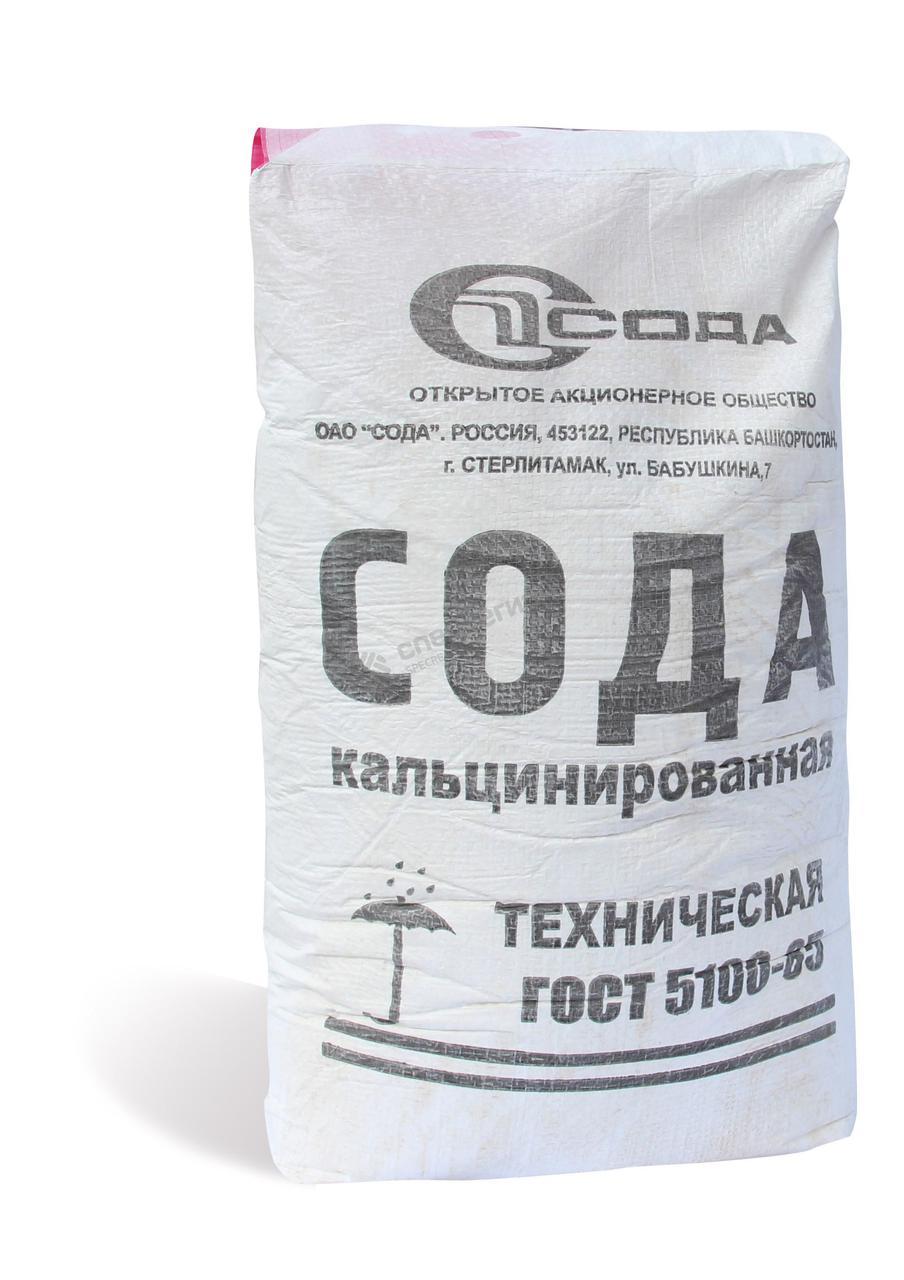 Сода кальцинированная, 25 кг, Росиия