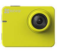 Action видеокамера EZVIZ  S2 YELLOW  (CS-SP206-B0-68WFBS) , фото 1