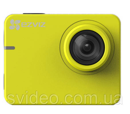 Action видеокамера EZVIZ  S2 YELLOW  (CS-SP206-B0-68WFBS)  от Hikvision, фото 2