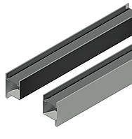 Профиль створки  для ставень с поворотными ламелями ,идёт в паре правый и левый длина 1,65 м.