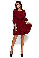 Однотонное весеннее платье, фото 1