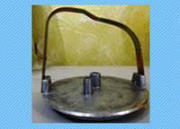 Крышка доильного ведра алюминиевая