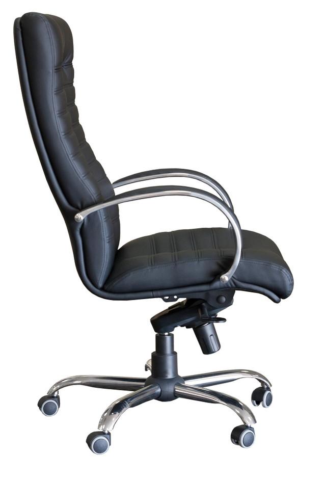 Кресло Орион HB Хром мех., Anyfix чёрный.