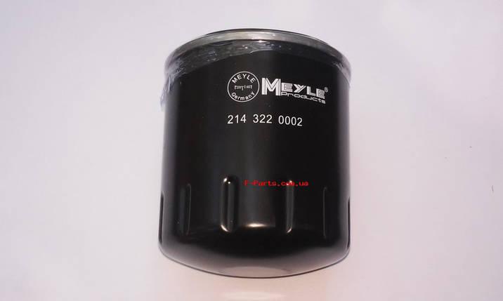 Маслянный фильтр Meyle 35-143220000, фото 2