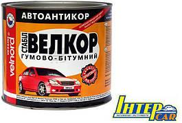Мастика антикоррозионная битумно-каучуковая VELVANA Велкор-Стабил 1,8 кг