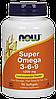 NOW Omega 3-6-9 1200 mg 90 softgel