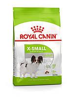 Для мини пород Royal Canin X-Small Adult, 1,5 кг, корм
