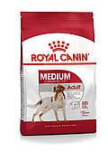 Для средних пород от 12 месяцев Royal Canin Medium Adult, 15 кг