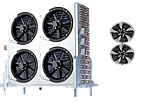 Kelvion SF (шаг ламели 7 мм, два вентилятора)