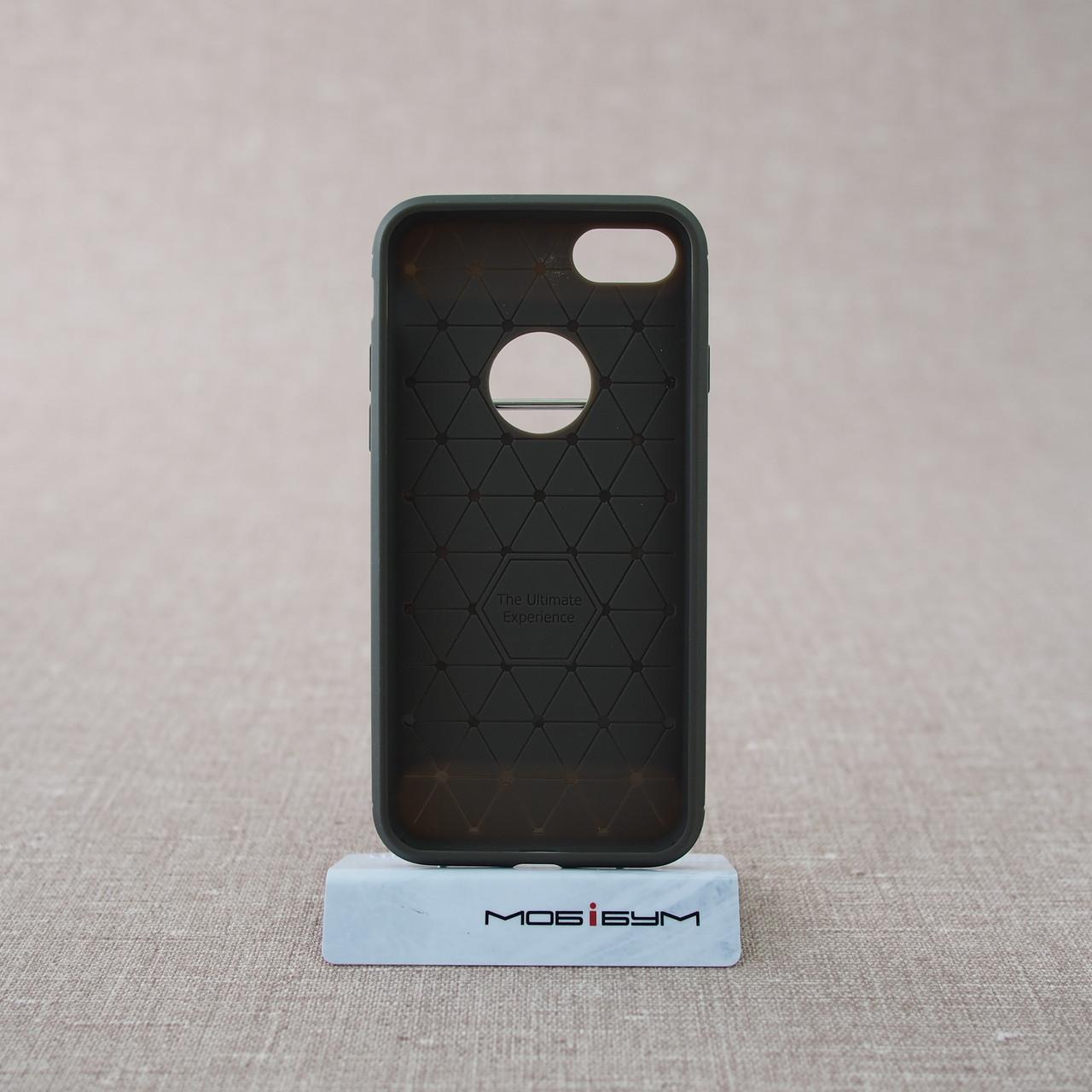 iPaky Shockproof Lasi iPhone 8 7 grey Для телефона Чехол