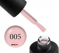 Гель лак Couture Colour 005 кремово рожевий 9 мл