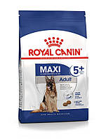 Для крупных пород собак старше 5 лет Royal Canin Maxi Adult 5+, 15 кг, корм
