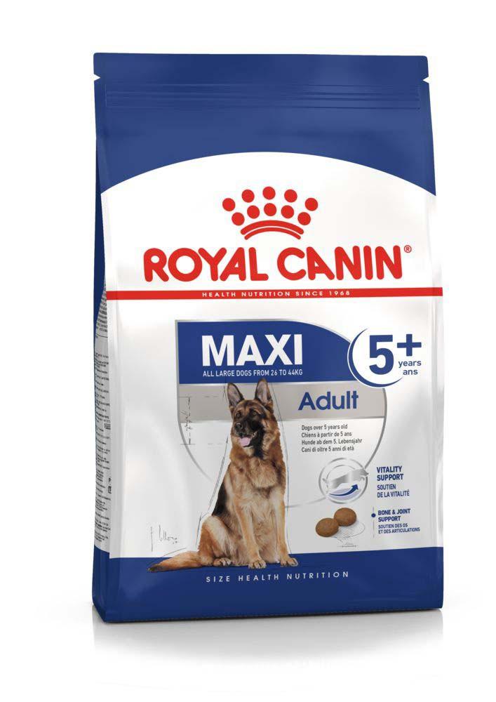 Корм для крупных пород собак старше 5 лет Royal Canin Maxi Adult 5+, 4 кг