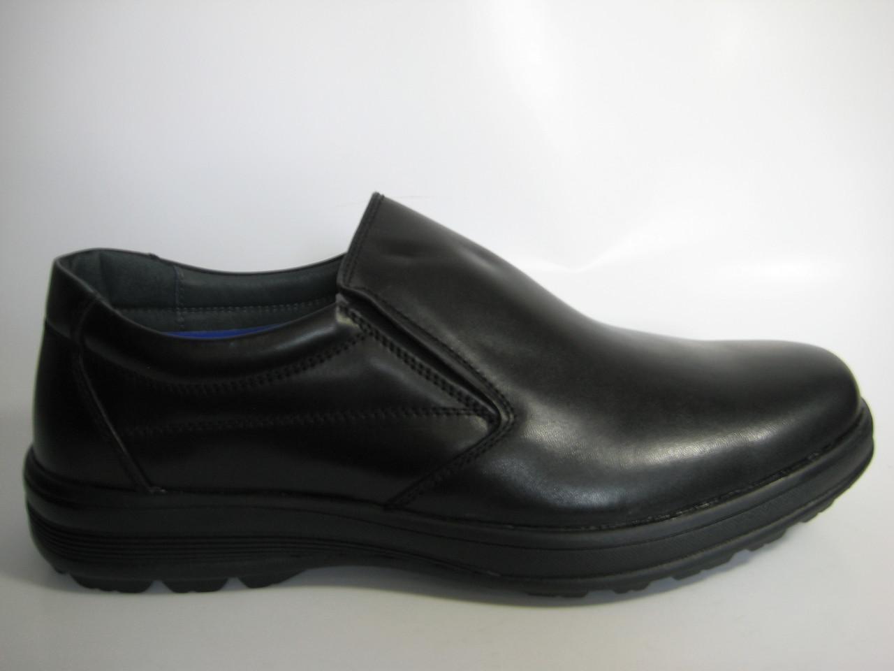 Мужские кожаные туфли ТМ TJTJ, фото 1