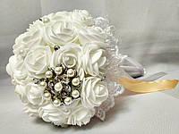 Свадебный букет-дублер для невесты Stile (Персиково-белый), фото 1