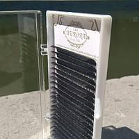 Ресницы AURORA одна длина 0.07 D 7 мм, фото 1