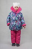 Детский зимний комбинезон для девочки оптом и в розницу