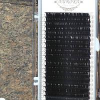 Вії AURORA одна довжина 0.10 CC 10 мм
