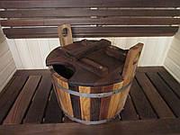 Запарник для веника с крышкой 25 л Термо Ясень Árbol, фото 1