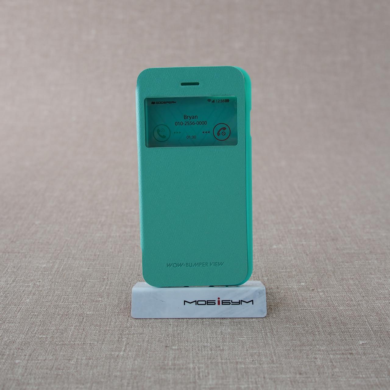 "Чехол Goospery WOW! Bamper View iPhone 8/7 {4.7""} blue"