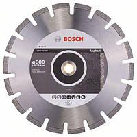 Алмазный отрезной круг Bosch Standard for Asphalt 300 x 20/25.4 x 2.8 x 10 mm (2608602624)