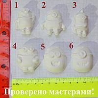 Гипсовые фигурки для раскрашивания Миньоны 4 см, фото 1