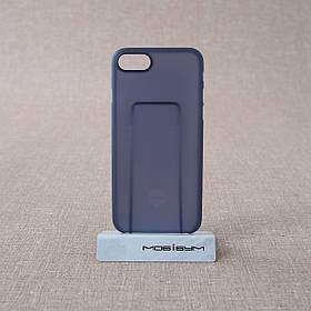 """Чохол Ozaki O! Coat 0.3 iPhone 8/7 {4.7 """"} Jelly dark blue (OC735DB) EAN / UPC: 4718971735031"""