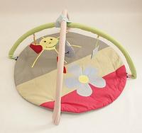 Коврик игровой с дугами и подвесными игрушками Улитка MMA-KI-U